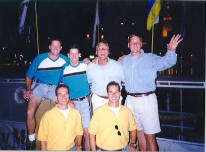 Greg & Jamie, Frank & Vince, Andrew & Anthony- 1998 Flats 'Twinfest'