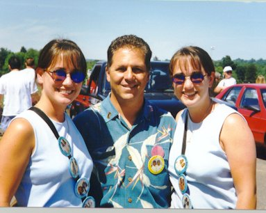 Heather, Richie & Leslie - 1998 Twins Days
